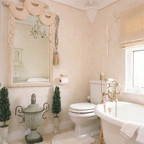 Ванная комната и туалет: фото.