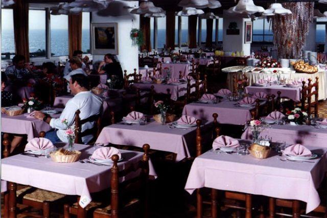 Завтрак шведский стол в ресторане мариус паб